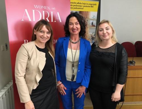 """Sudjelovali smo na Konferenciji za poduzetnice – """"Prkosne i ponosne"""" u Bjelovaru u organizaciji Women in Adria"""