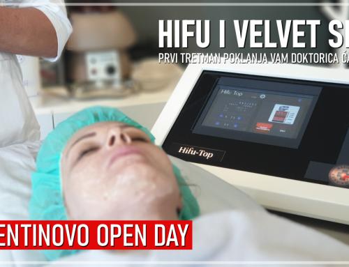 VALENTINOVO OPEN DAY HIFU i VELVET SKIN